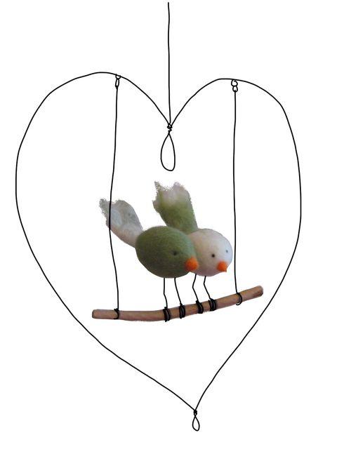 Oiseaux coeur