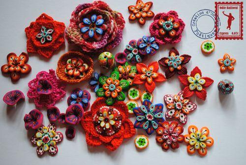 Fleur et laine