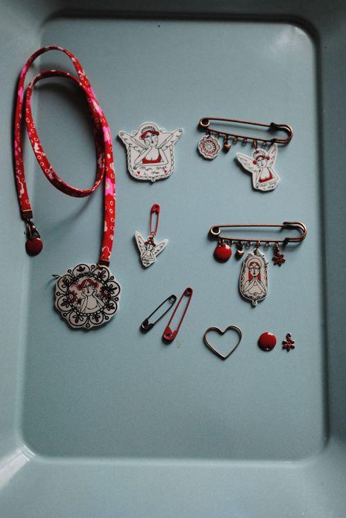 Mini bijoux en cours