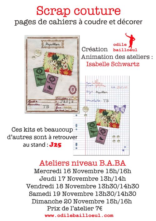 Ateliers odile isabelle