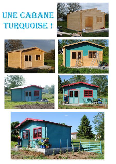 Cabane turquoise