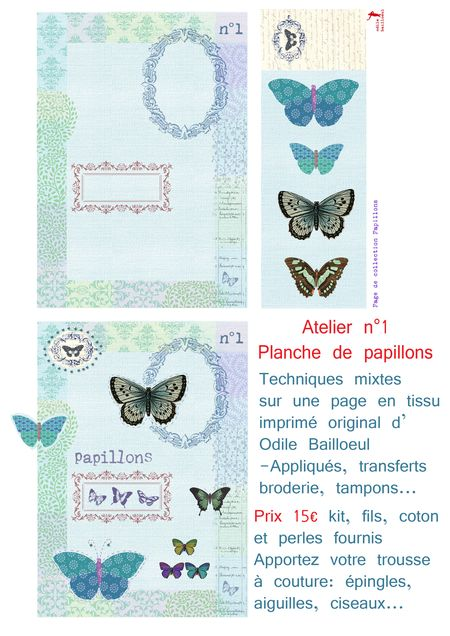Atelier 1 page papillons