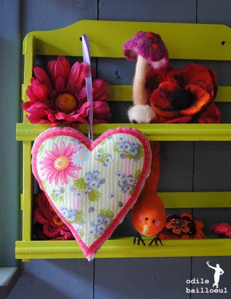 Coeur a fleurs