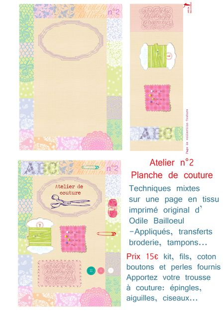 Atelier 2 page couture