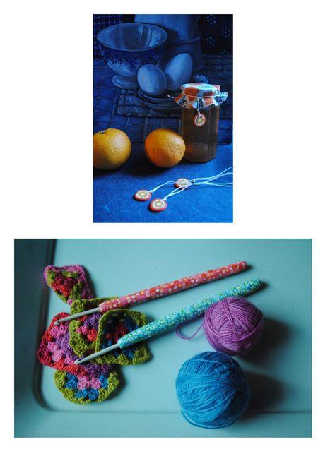 Orange, crochet