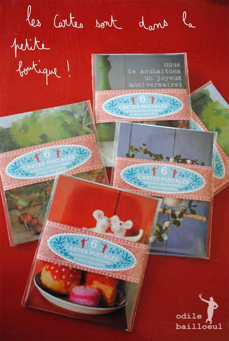 Mini cartes blog
