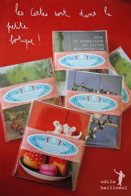 Mini cartes blog