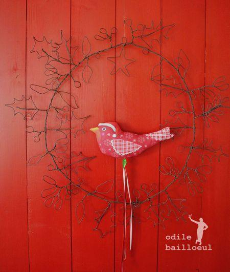 Mini oiseau noel