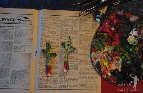 Mini page de radis ...