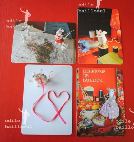 4 cartes atelier