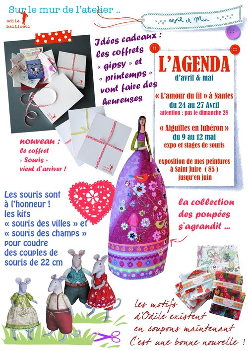 Mini newsletter avril mai