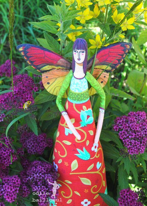 Mini grande fée papillon 3