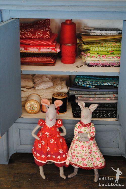 Mini armoire rangée
