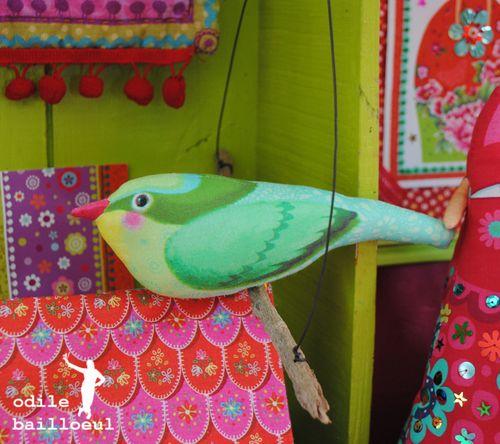 Mini oiseau vert