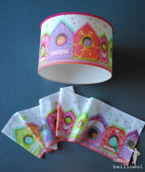 Mini lampe et bordure