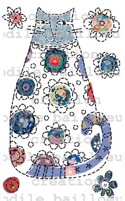 Chat bleu patcj