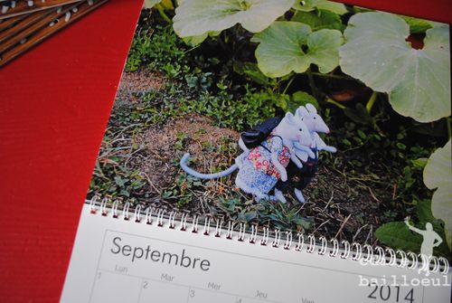 Mini calendrier sept