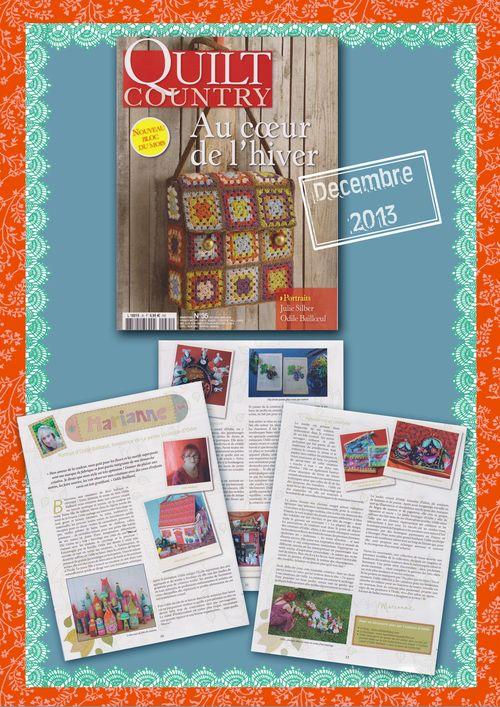Presentation quilt country dec 2013