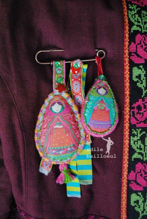 Mini poupées russes