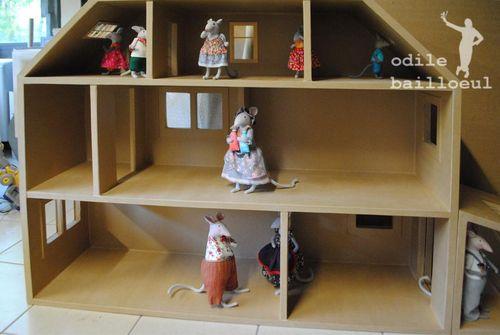 Mini maison carton