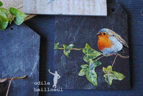Mini peinture oiseau 4