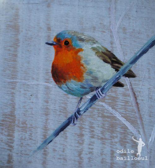 Mini peinture oiseau 3
