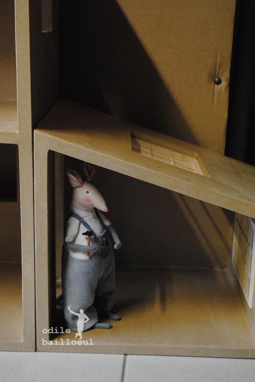 Mini maison carton 0947